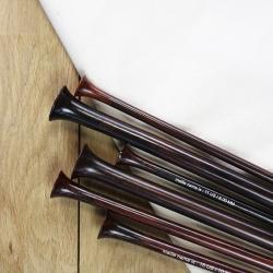les aiguilles droites en bois de rose