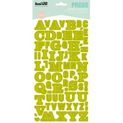 alphabet press - blanc