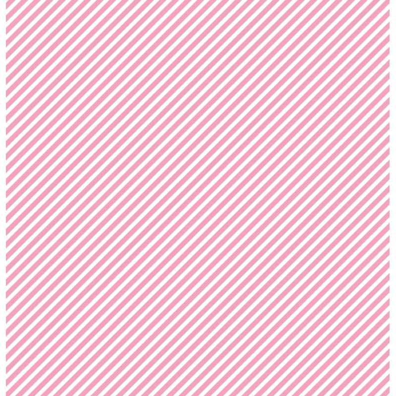 cardstock étoile - rayure rose