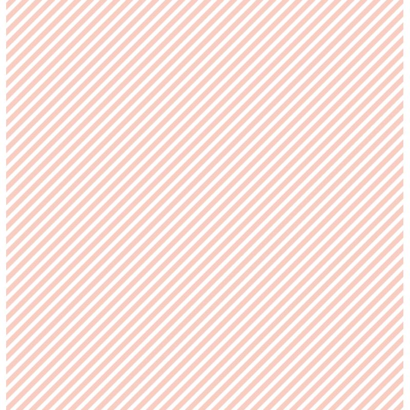 cardstock étoile - rayure rose saumon