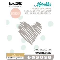 metaliks handwritten heart