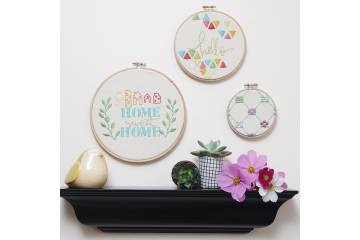 Maxi embroidery hoop circle 21,5 cm
