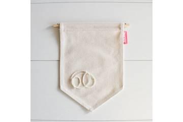 Medium fabric flag to decorate