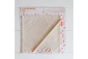 Bannière en tissu à décorer