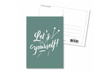 Carte postale - Let's do it yourself