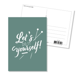 Postcard - Let's do it yourself