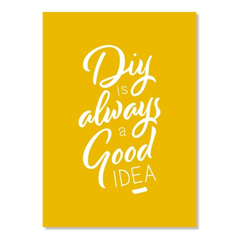 Carte postale - Diy is always a good idea