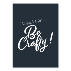 Carte postale - Jacques a dit... be crafty