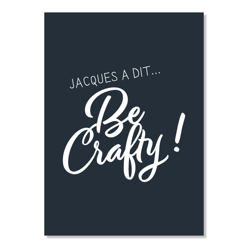 carte postale - Jacques a dit... be crafty !