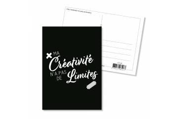 Carte postale - Ma créativité n'a pas de limites