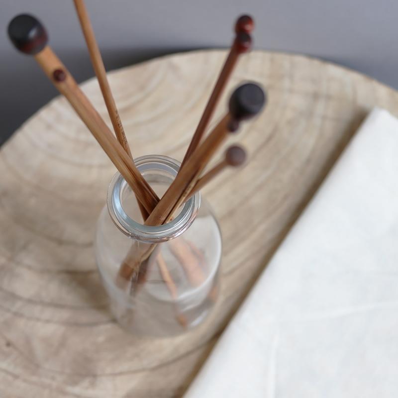 bamboo wood knitting needles
