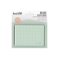 Acrylic block 10 x 7 cm