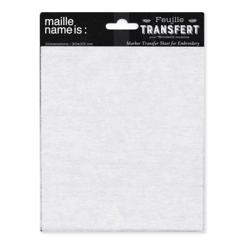 Marker Transfer Sheet for Modern Embroidery