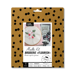 Maille Kit - Broderie Flourish