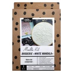 Maille Kit - Embroidery White Mandala