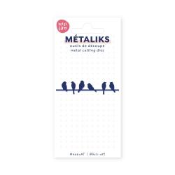set de 2 outils de découpe métaliks - photo