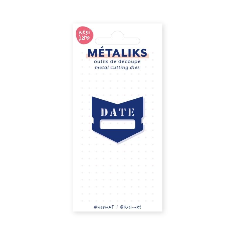 Dies métaliks - Marque-date