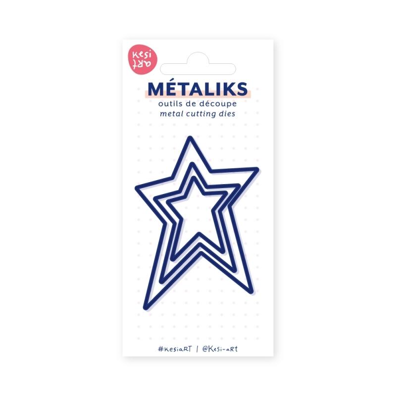 Dies métaliks - 3 étoiles