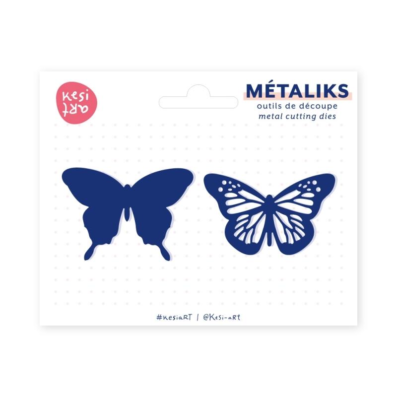 Dies métaliks - Papillons