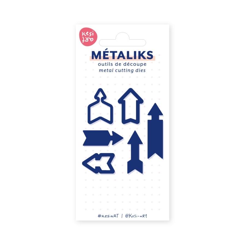 Dies métaliks - Fléchettes