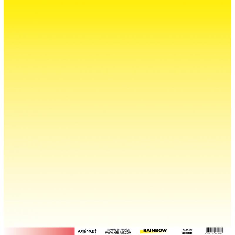 Papier 30 x 30 cm - Nuances recto