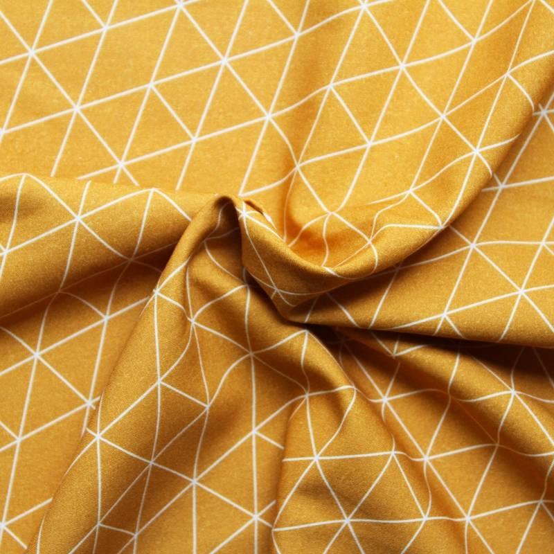 tissu au mètre en viscose imprimé - lula