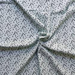 Printed viscose fabric -...