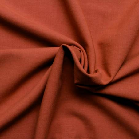 Tissu viscose uni - Amarante