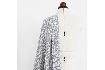 Tissu batiste coton imprimé - Gaia