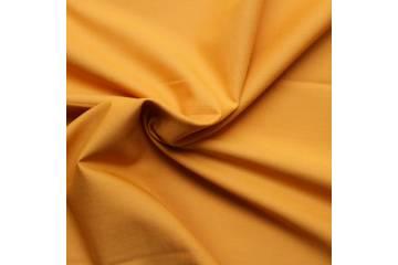 Tissu batiste coton uni - Moutarde