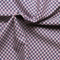 Printed batiste cotton fabric - Leto