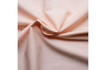 Tissu batiste coton uni - Flamant