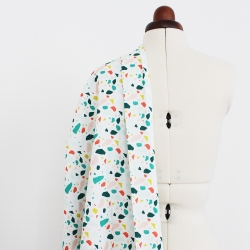 Printed canvas cotton fabric - Itten