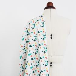Tissu canvas coton imprimé - Itten