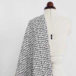 Tissu canvas coton imprimé - Oskar