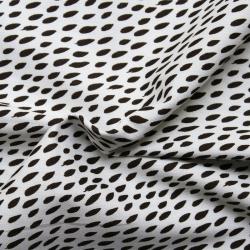 Printed canvas cotton fabric - Oskar