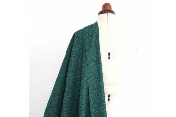 Printed canvas cotton fabric - Dell