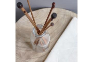 Aiguilles droites en bambou