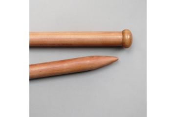 Aiguilles droites XXL en bois