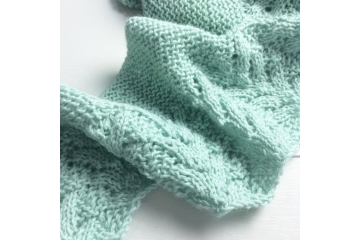 Shawl knitting pattern - Augustin