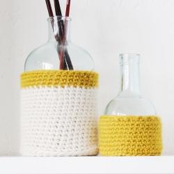Patron crochet cache-pot...