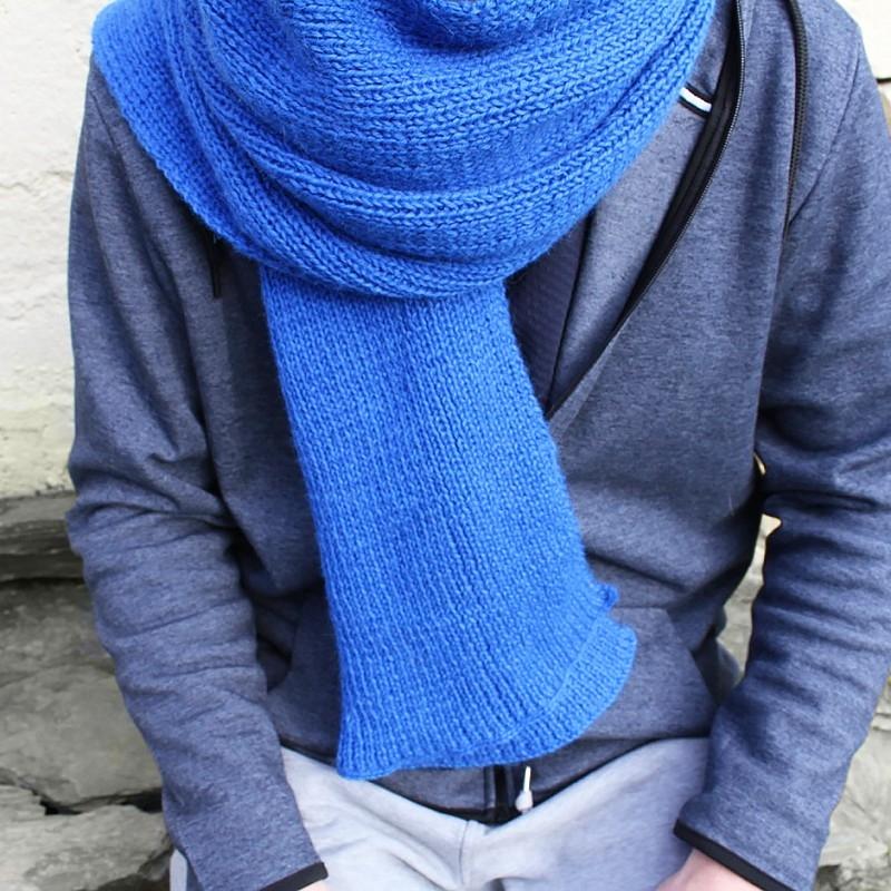 dffbb12efcaa6 Patron tricot de l'écharpe Oscar à télécharger - Kesi'Art
