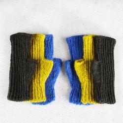 Rib mittens knitting pattern - Oscar