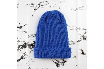 Rib hat knitting pattern - Oscar