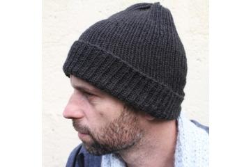 Patron bonnet au tricot - Oscar