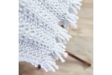 Patron écharpe au tricot - Charlie
