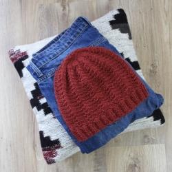 Patron bonnet au tricot - Louis