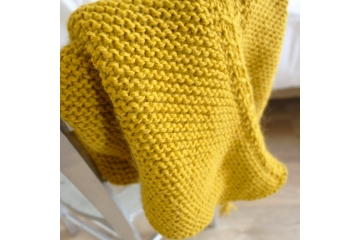 Chevrons shawl knitting pattern - Marcel