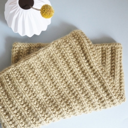 Snood cowl knitting pattern - Toussaint