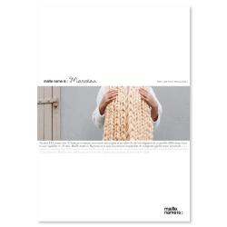 Patron écharpe au tricot - Marceau